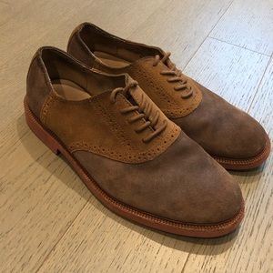 Mens leather Polo shoes